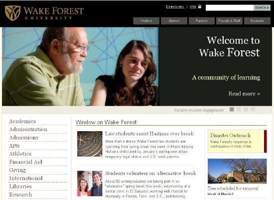 Top attractive websites