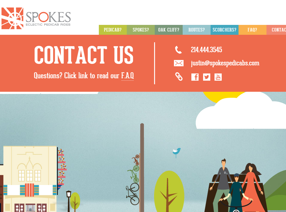 """7 Great Examples of The """"Contact Us"""" Page >> The Brick Factory"""