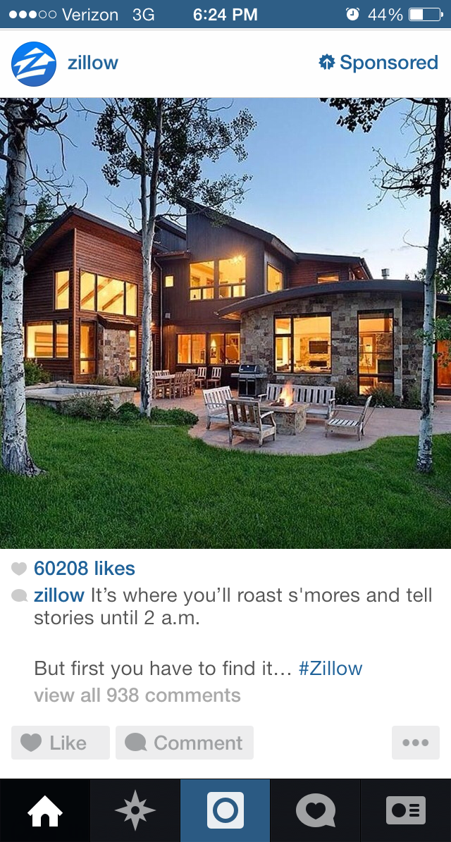 Instagram Zillow Ad