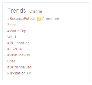 twitter promoted trend