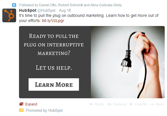 twitter promoted post with image