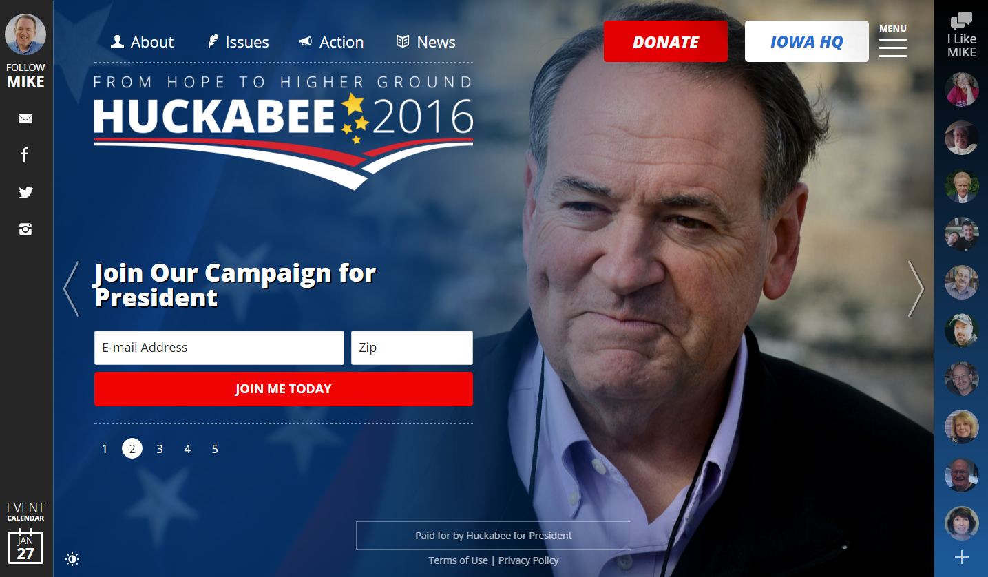 The Good and the Ugly: A Tale of 15 Presidential Campaign Websites