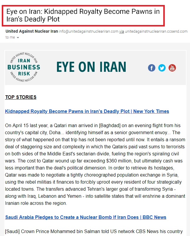 eye on iran