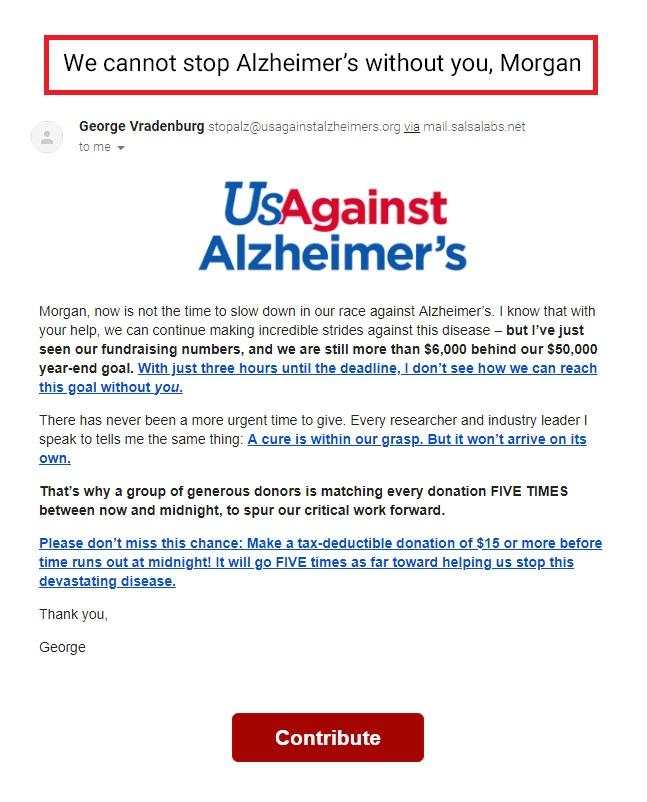us against alzheimer's