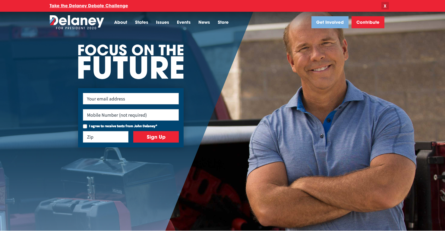 John Delaney Website